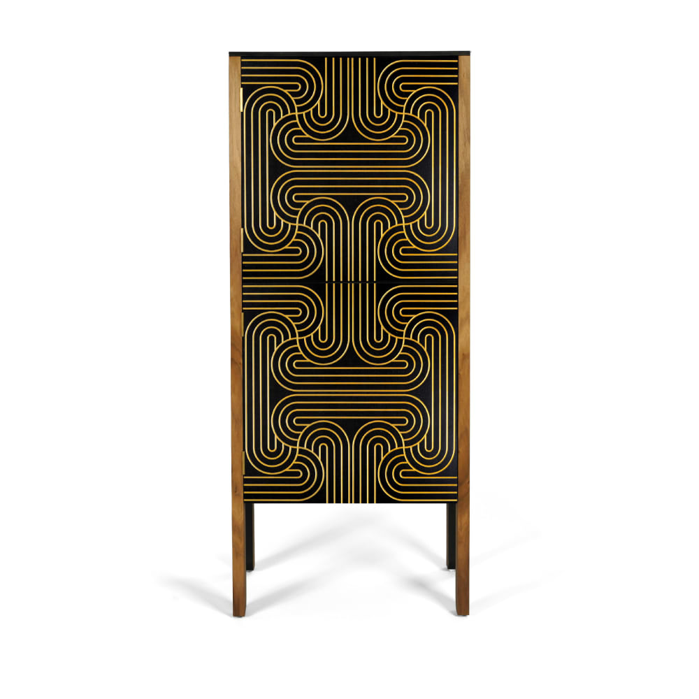 Gold Tall *Please note, only concealed hinges available