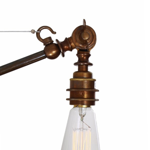 Manick Adjustable Industrial Wall Light