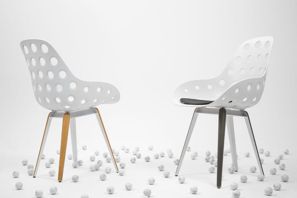 Slice Dimple chair by Sander Mulder for Kubikoff