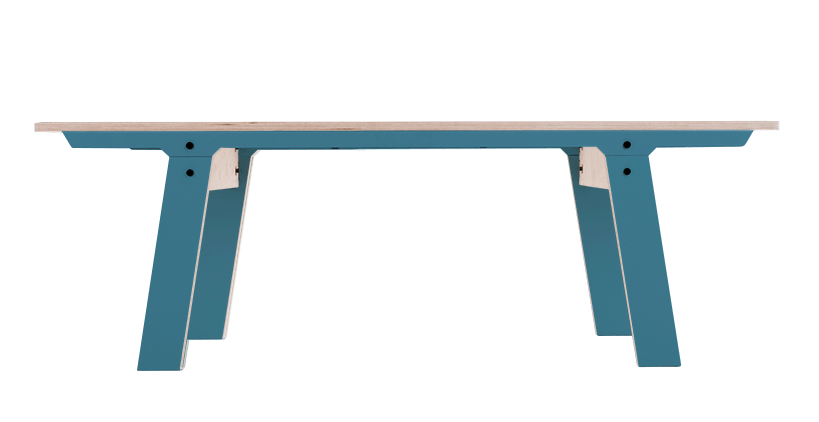rform Slim Bench 01 Small - Stone Blue Grey