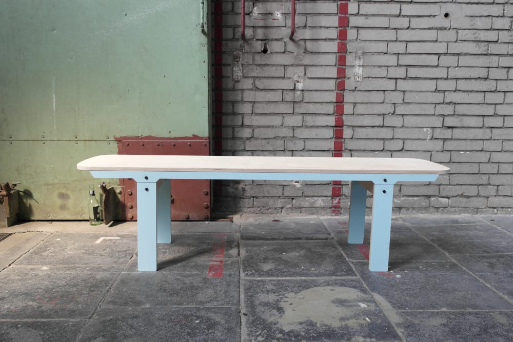 Slim Bench 04 Mid - Butterfly Blue
