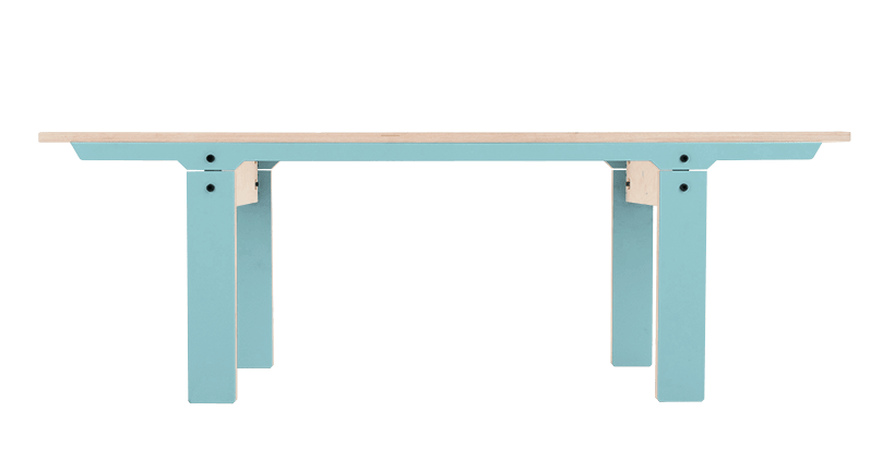 Slim Bench 04 Small - Butterfly Blue