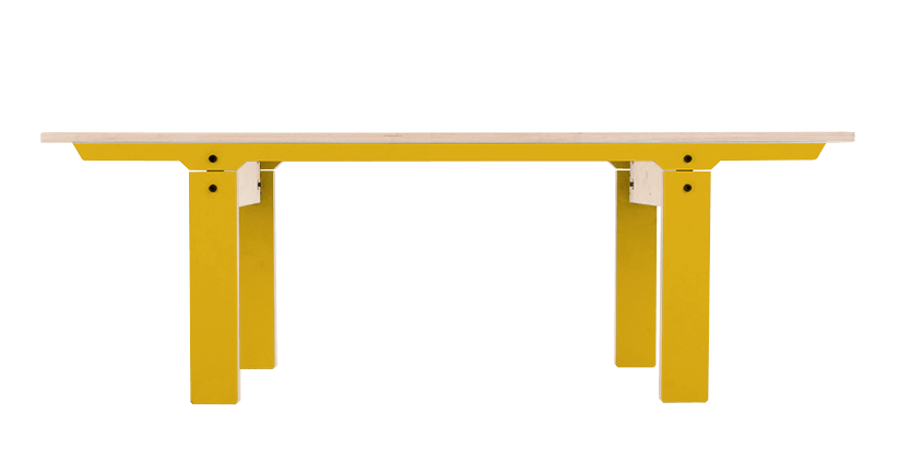 Slim Bench 04 Small - Canary Yellow