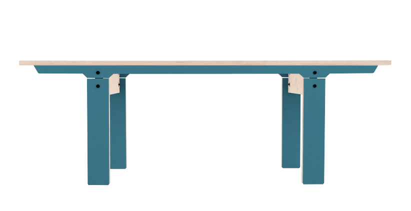 Slim Bench 04 Small - Stone Blue Grey