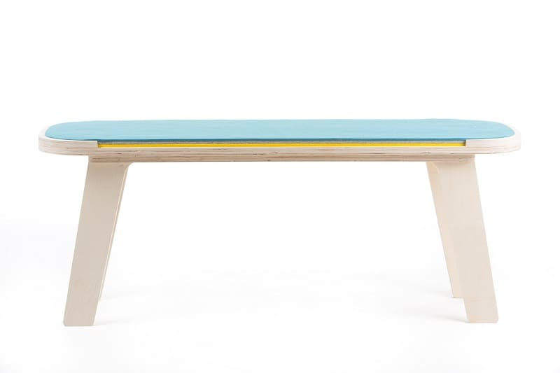 rfrom Slim Touch Bench - Blue - Grey - Yellow