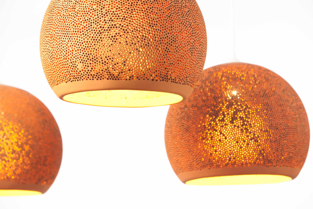 SpongeUp! lamps by Pott - Design by Miguel Angel Garcia Belmonte