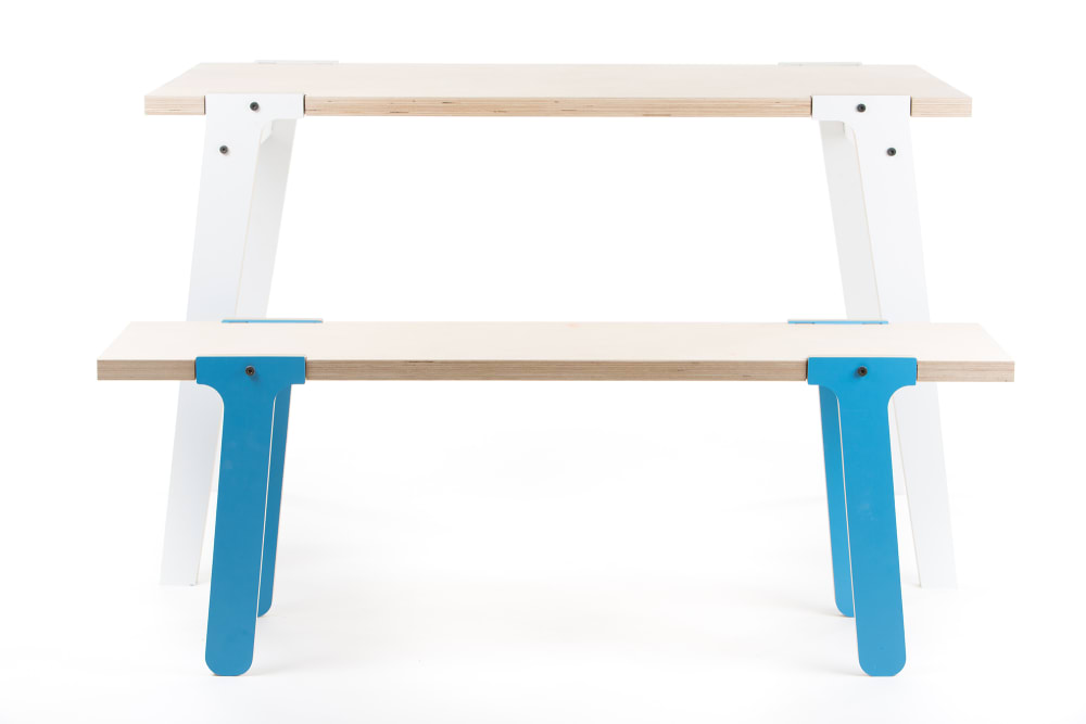 Switch Bench 07 - Iris Blue