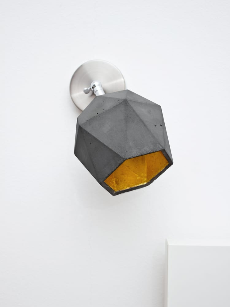 GANTlights [T2]spot with gold plating