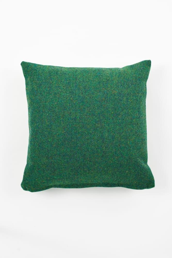 Twin Tone Cushion - Forest Green