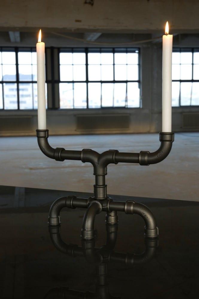 U-Tube candle holder by Sander Mulder