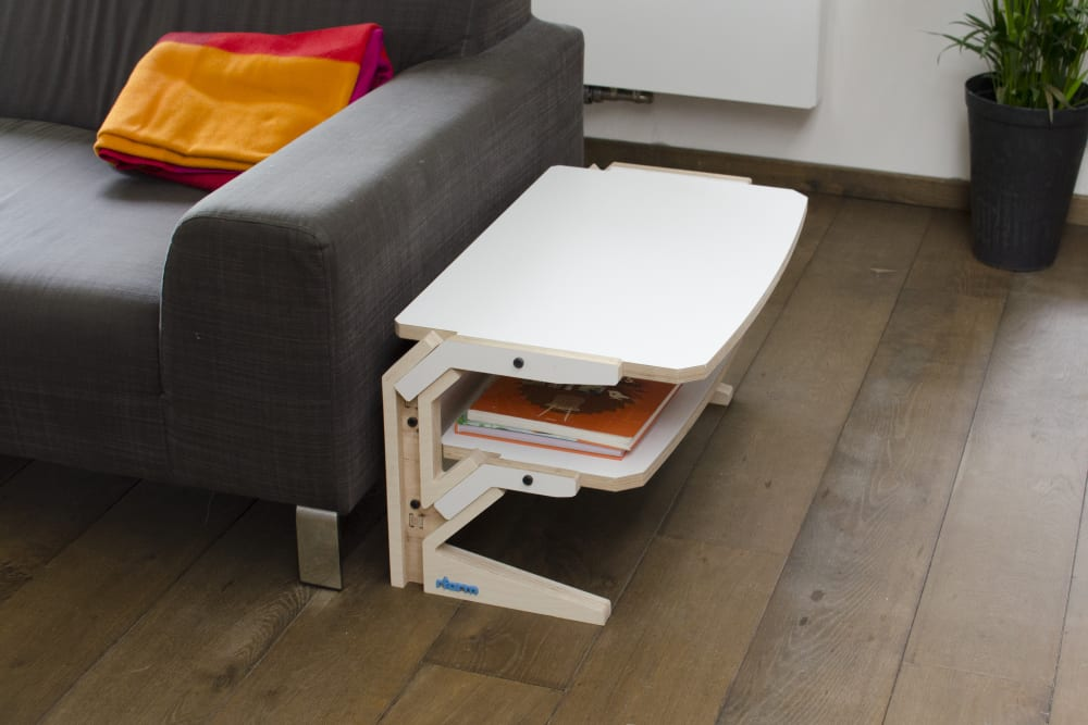 Vegetale Side Table - Snow White