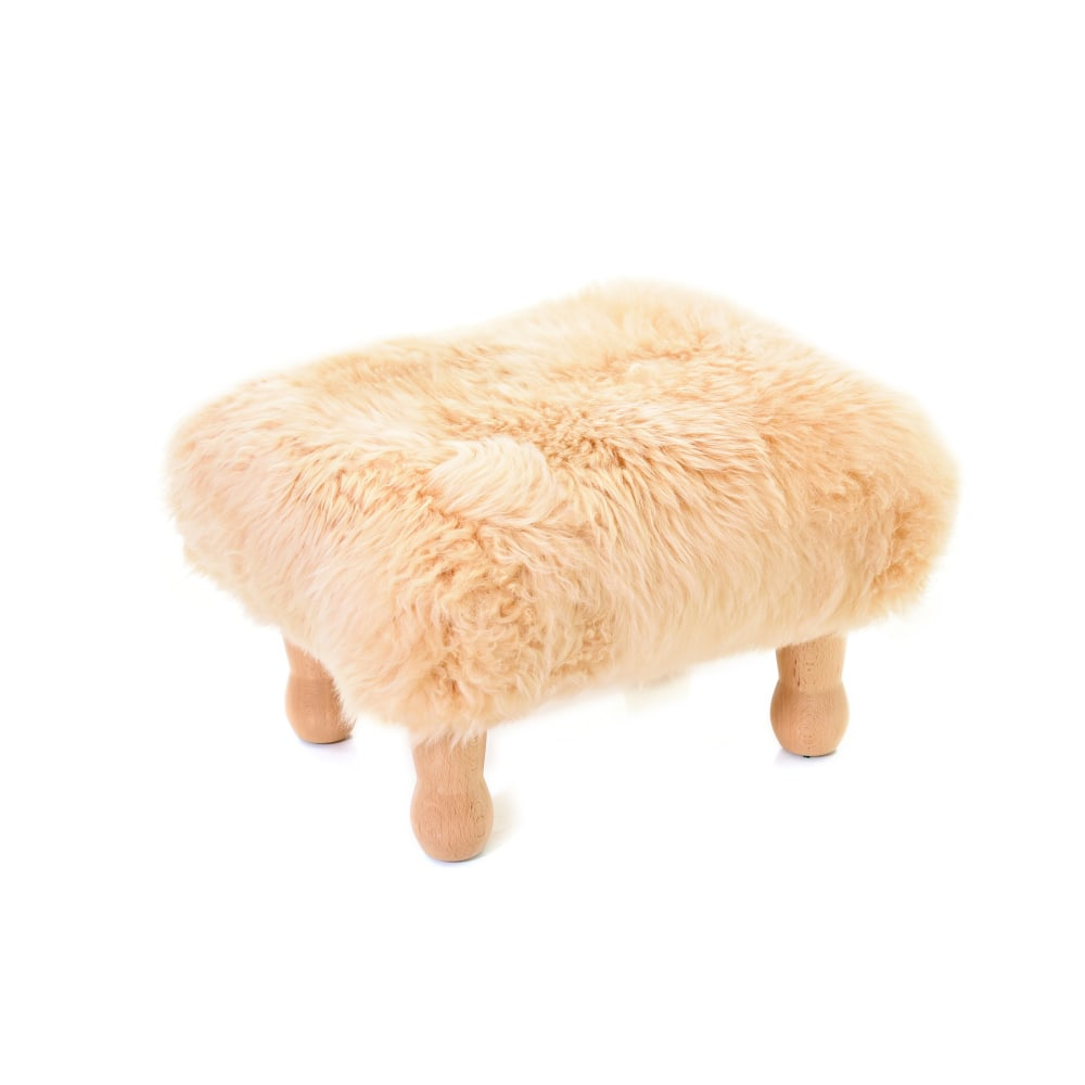 Angharad Baa Stool in Buttermilk