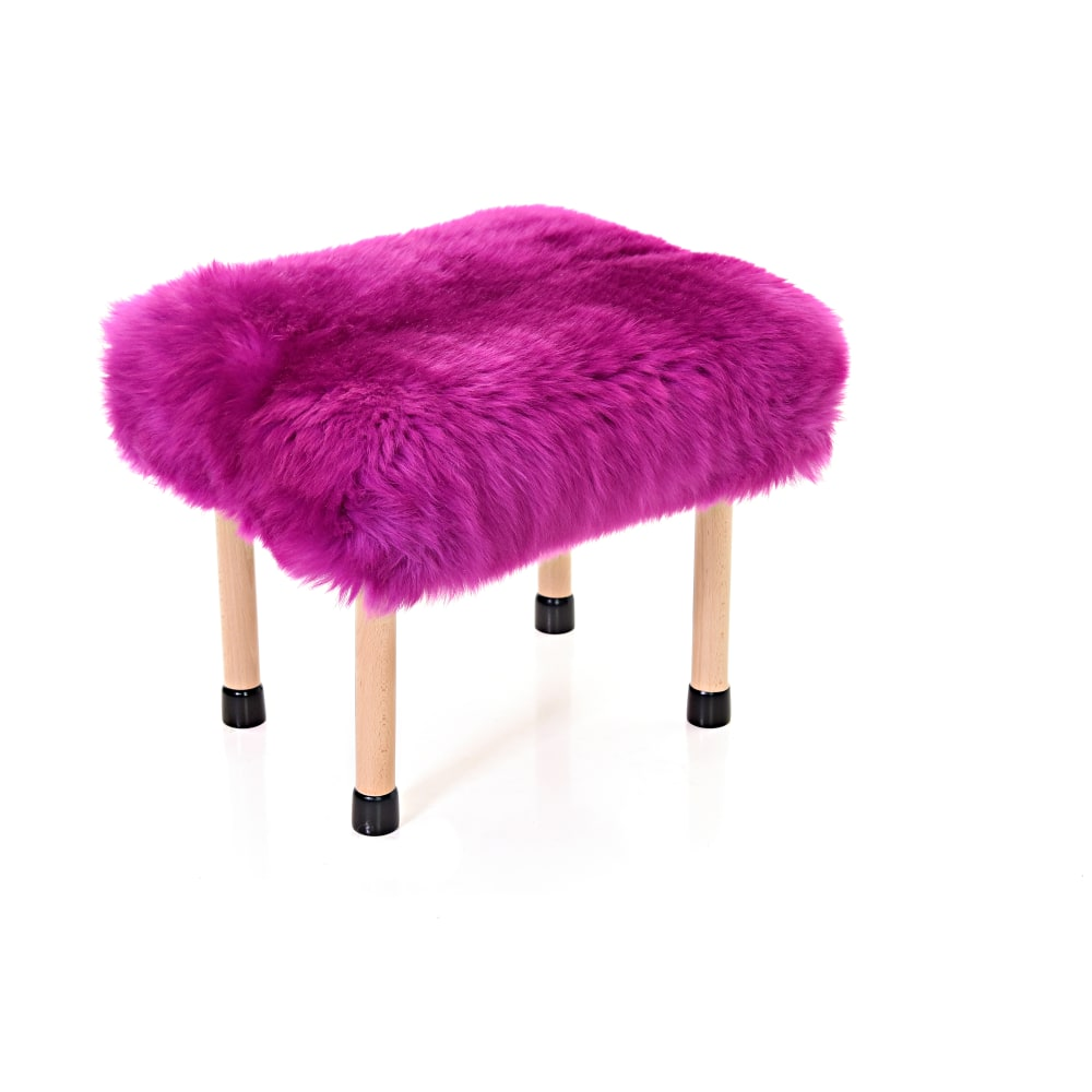 Nerys Baa Stool in Cerise