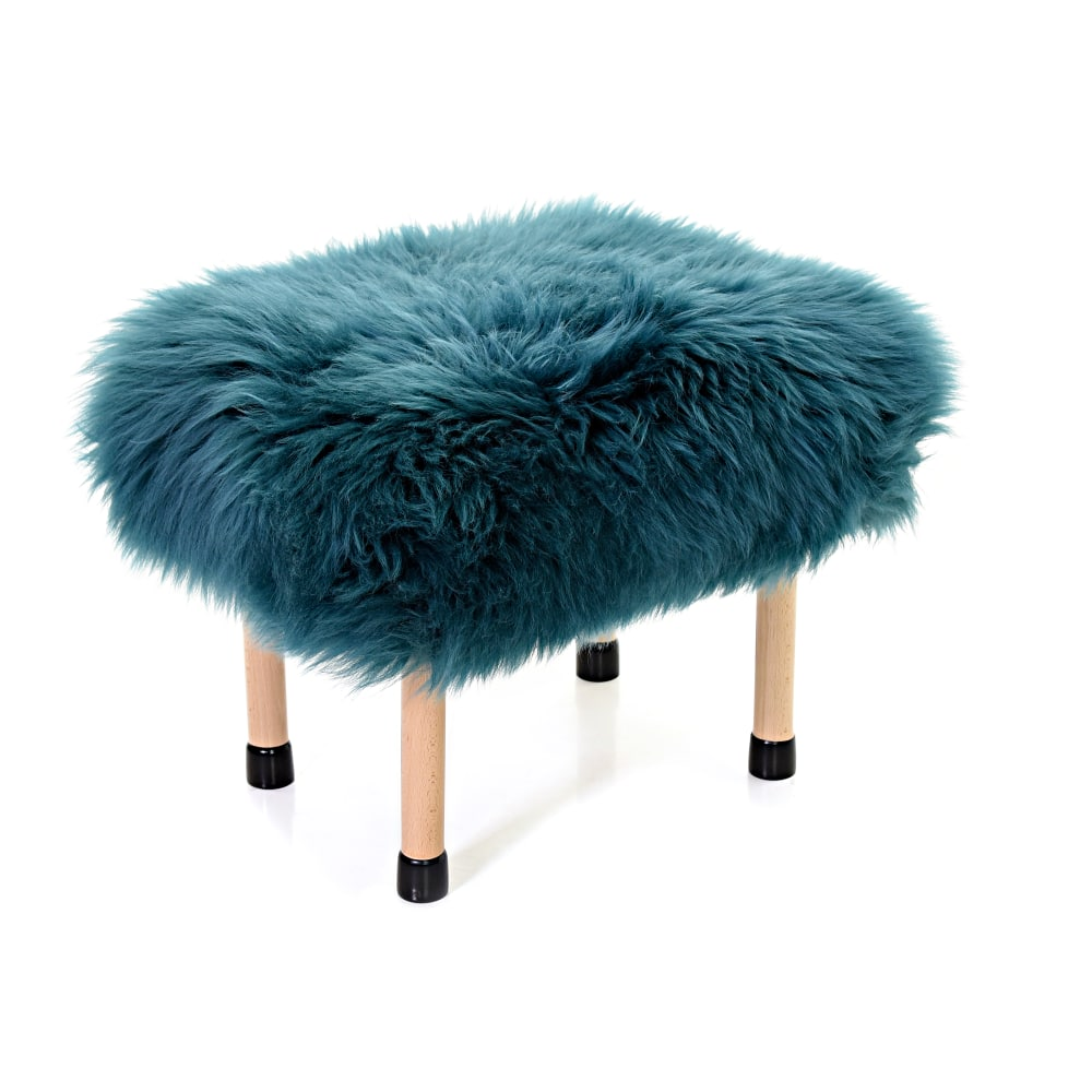 Nerys Baa Stool in Teal