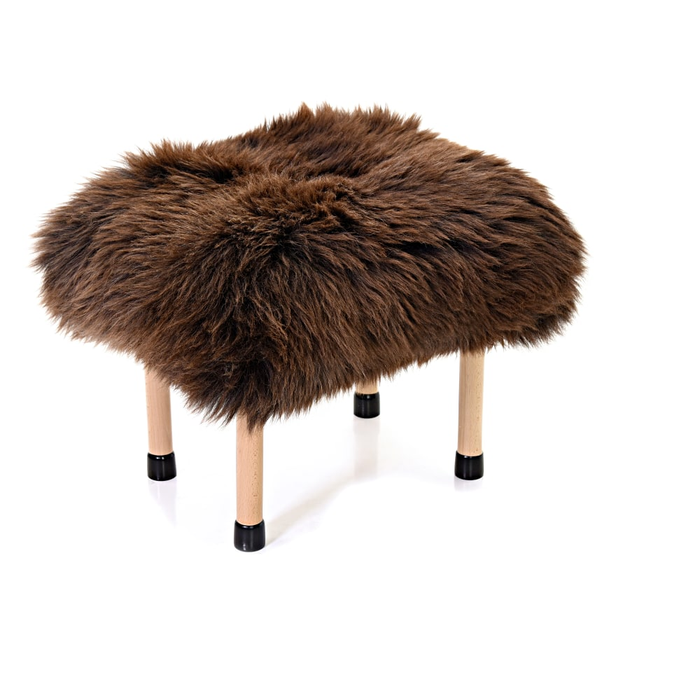 Nerys Baa Stool in Chocolate