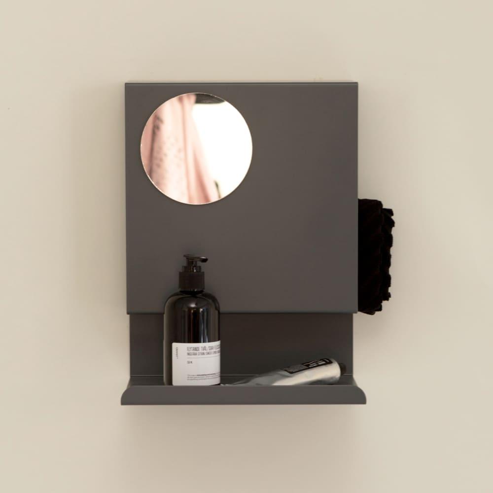 Anthracite Ledge:able Shelf