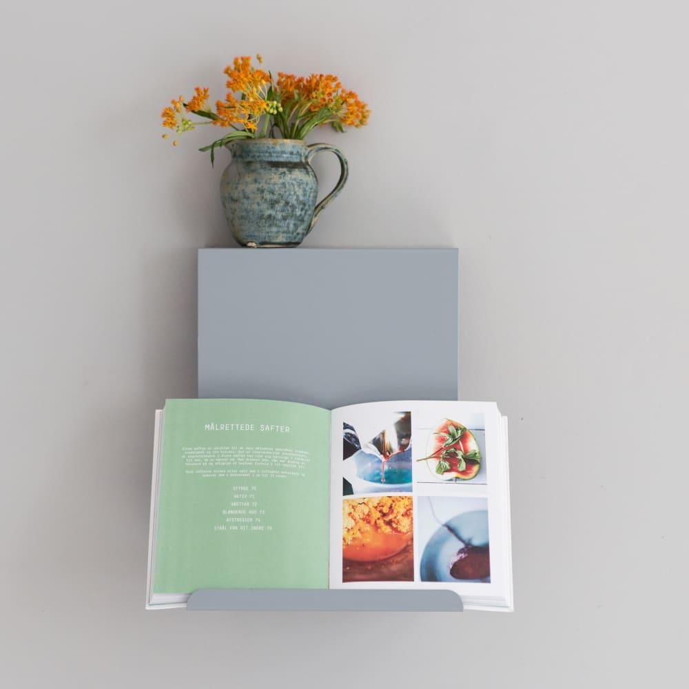 Greyblue Ledge:able Shelf