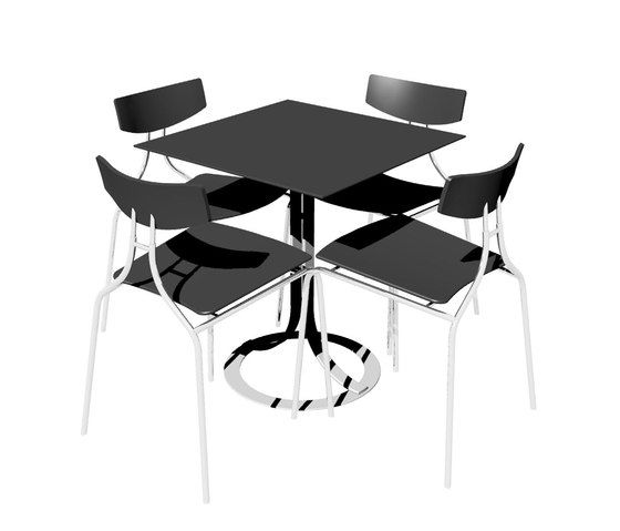 Café Donna Table by Askman by Askman