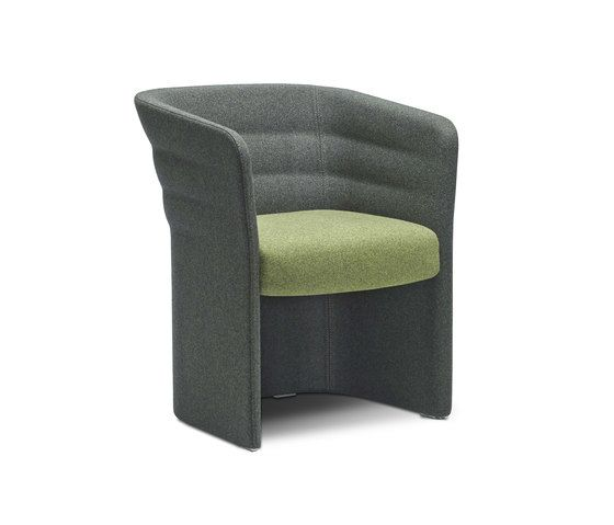Cell 75 upholstered easy chair by SitLand by SitLand