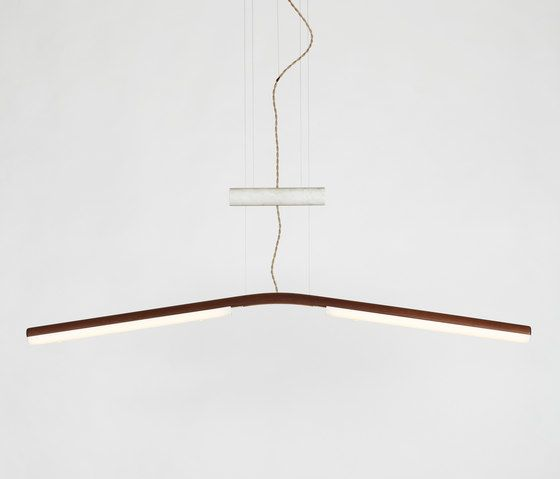 Counterweight Pendant walnut by Fort Standard by Fort Standard