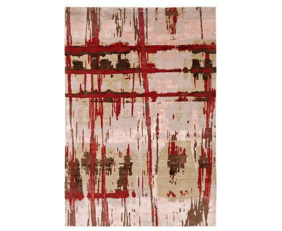 Crash 15 Teppich rot by Christine Kröncke by Christine Kröncke