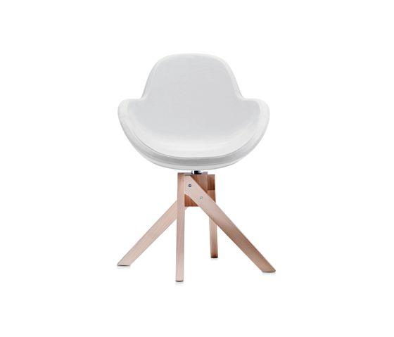 Darling 4 swivel armchair by Frag by Frag