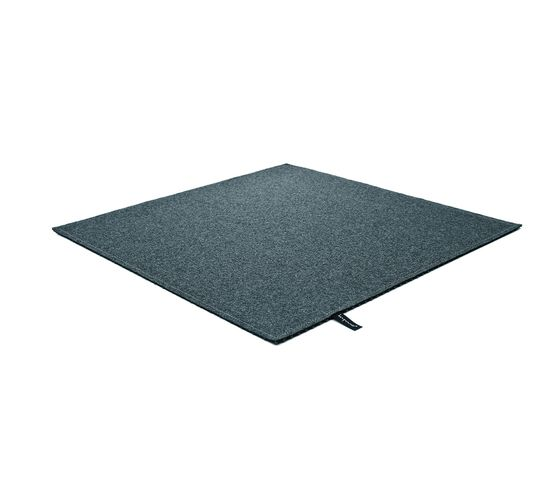 Fabric [Flat] Felt azur grey by kymo by kymo