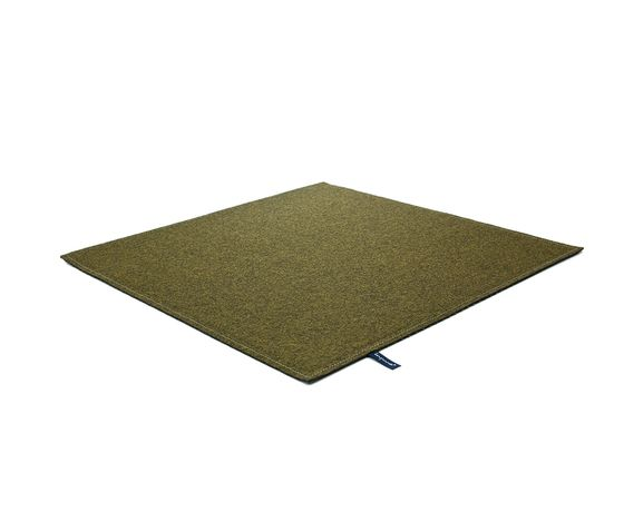 Fabric [Flat] Felt olive grey by kymo by kymo
