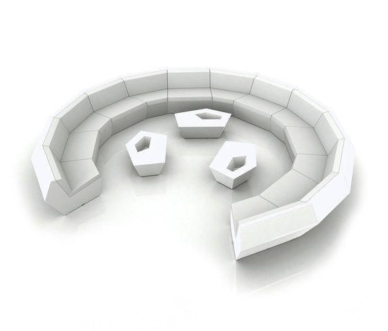 Faz Sofa - Modular by Vondom