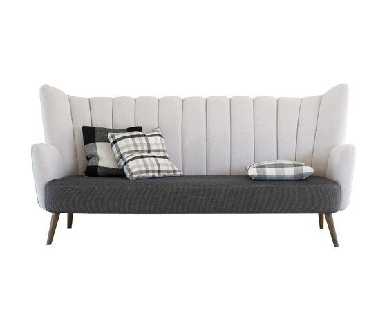 Flute Sofa by Designers Guild by Designers Guild