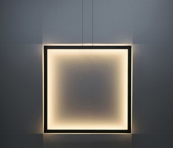 Framed suspension lamp square by Jacco Maris by Jacco Maris