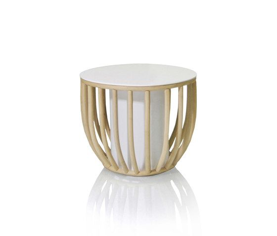 Frames Round coffee table by Expormim by Expormim
