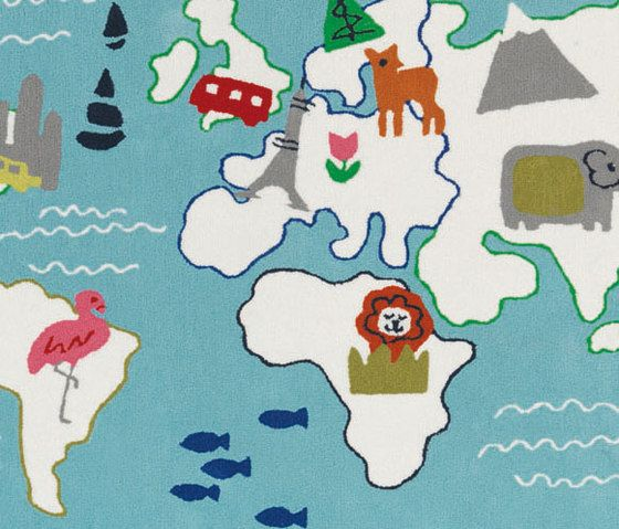 Kids Rugs - Around The World by Designers Guild by Designers Guild