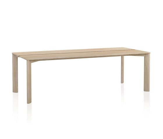 Kotai Rectangular dining table by Expormim by Expormim
