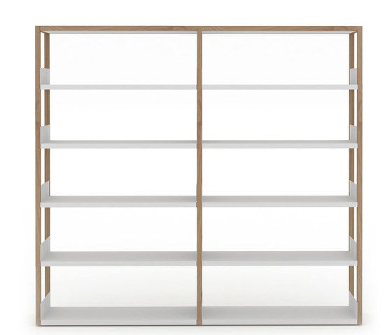 Lap shelving tall by Case Furniture by Case Furniture