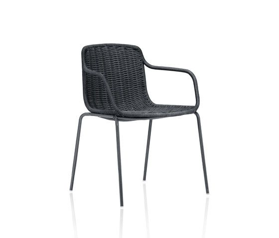 Lapala Hand-woven dining armchair by Expormim by Expormim