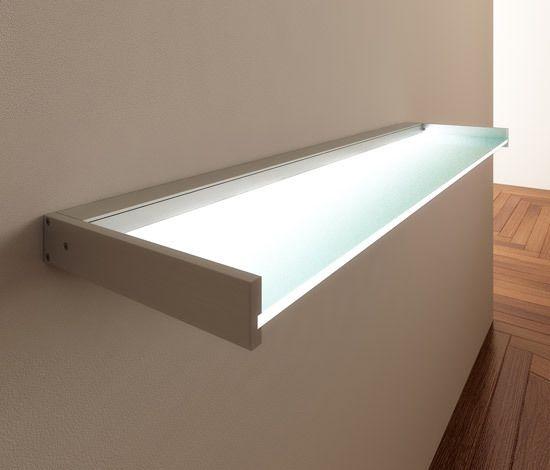 Lighting system 6 Glass shelf by GERA by GERA