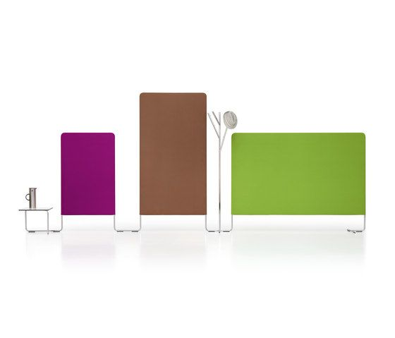 LINKED Configuration with coat rack & table by Girsberger by Girsberger