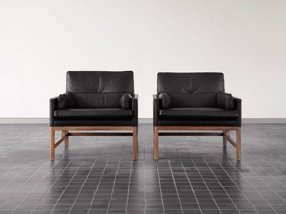 Low Back Lounge Chair by BassamFellows by BassamFellows