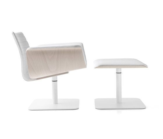 Meeting Armchair & Footrest by Bross by Bross