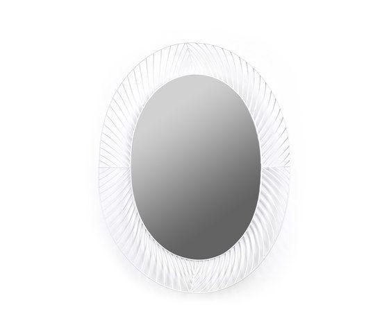 Mirror Ovale white by Serax by Serax