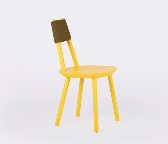 Naive chair yellow by EMKO by EMKO