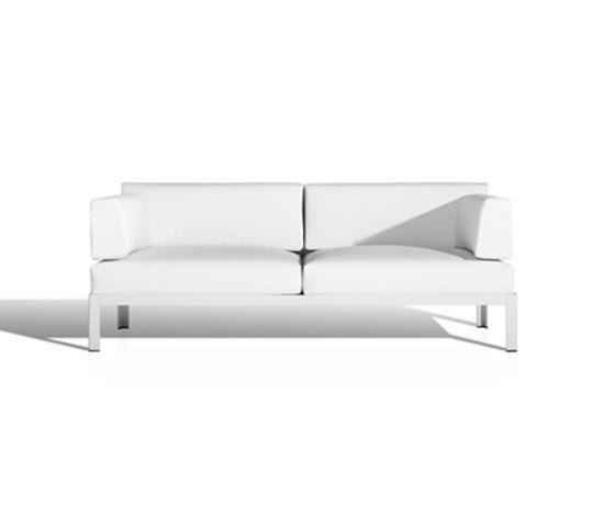 Nak 2-seater sofa by Bivaq by Bivaq
