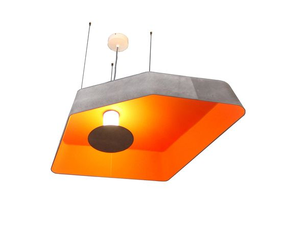 Nenuphar Pendant light small LED by designheure by Designheure