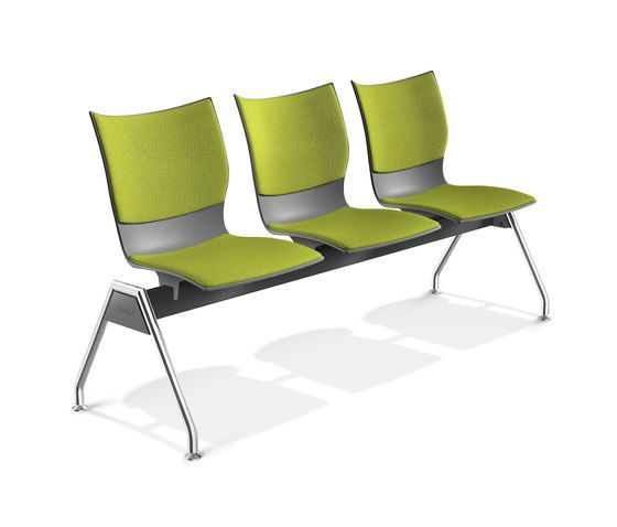 Onyx Beam Seating 2432/99 by Casala by Casala