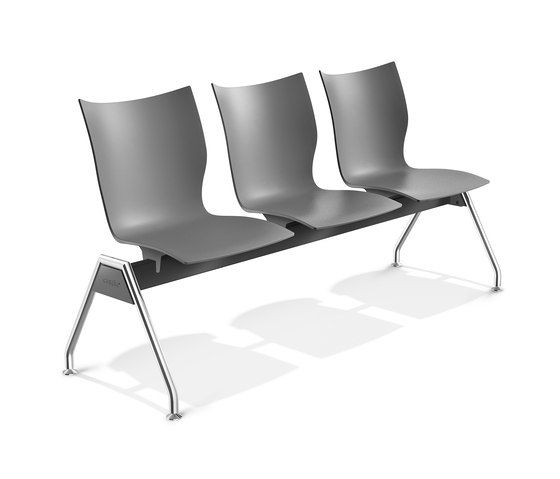 Onyx Beam Seating 3430/99 by Casala by Casala