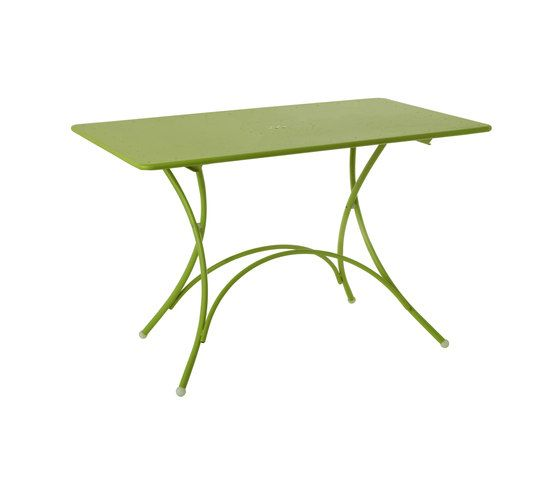 Pigalle folding rectangular table by EMU