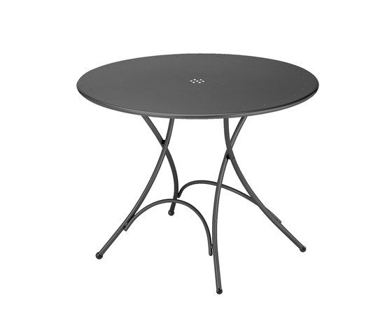 Pigalle folding round table by EMU