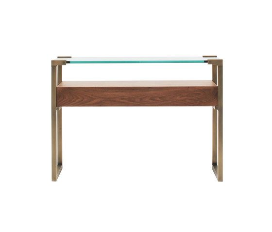 Pioneer T53L Console table with Walnut Wood by Ghyczy