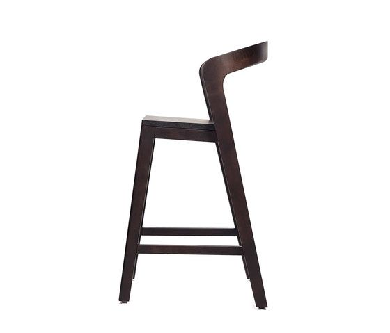 Play Barstool Low – Oak Stained by Wildspirit by Wildspirit